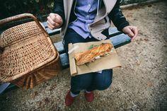 Levando o sanduíche ;)