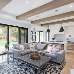 Clean lines and open floor plan #homeinspo #interiordesign #housegoals #localrealtors - posted by Christina Wasley Real Estate https://www.instagram.com/christinawasley - See more Real Estate photos from Local Realtors at https://LocalRealtors.com