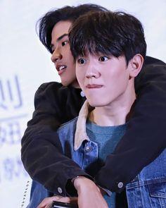 Trauma, Chen, Bright Wallpaper, Gay Aesthetic, Thai Drama, Drama Series, Love Memes, Best Couple, My Sunshine