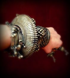 Banjara Bracelet Unique Sawblade Cuff