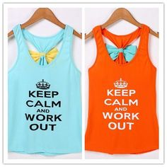 57ccebfc06 Sleeveless Letters Printed Sexy Back Bowknot Tank Top
