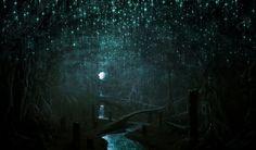 Vlad Marica - Concept art: The cave of eternal night