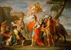ALEXANDER funda ALEXANDRIA Placido Costanzi 1736....