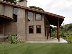 Casas com tijolo a vista