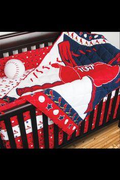 STL Cardinals nursery set