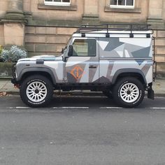 L A N D Y the GC landy on blending in on Warwick's streets. #Warwick #guerillacast #gc #landy #defender #landroverdefender #landrover #wrap #bowler #bowlermotorsport #bfgoodrich #allterrain #soloparking #adventuremobile by guerillacast L A N D Y the GC landy on blending in on Warwick's streets. #Warwick #guerillacast #gc #landy #defender #landroverdefender #landrover #wrap #bowler #bowlermotorsport #bfgoodrich #allterrain #soloparking #adventuremobile Range Rovers, Jeep 4x4, Guerrilla, Defenders, Land Rover Defender, Offroad, Vw, Cool Cars, Camper