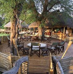 Mombo Camp in Moremi Game Reserve, Botswana