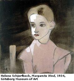 Helene Schjerfbeck The Neck of a Little Girl Much like the unmarried Mary Cassatt, single Finnish artist Helene Schjerfbeck. Helene Schjerfbeck, Helsinki, Female Painters, Mary Cassatt, Portrait Illustration, Art Sketchbook, Art Google, Girl Reading, Love Art