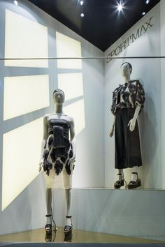 """La Rinascente, Milan, Italy, """"She is on a whole different level"""", by SPORTMAX, pinned by Ton van der Veer"""