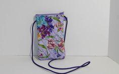 Smartphone case in lavender iris by JoyInTheBag on Etsy