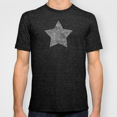 """""""Grey and black arabesques"""" T-shirt by Savousepate - $22.00"""