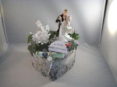 Geldgeschenk Hochzeit, Birkenherz, Liebe, Tanz von MaFi´s kreative Welt auf DaWanda.com