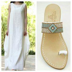 White....... Dea Sandals Capri Style www.deasandals.com Shop online  #sandalicapri #sandalsluxury #sandaligioiello #customized #tailormade #madeinitaly #handmade #sandali #sandalipositano #deasandals