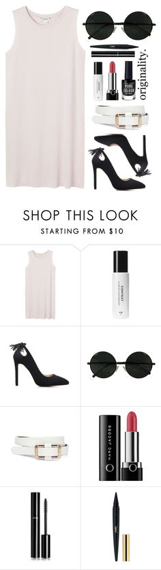 """Check &CheckMate"" by spellrox ❤ liked on Polyvore featuring Monki, Marc Jacobs, Chanel and New Look"