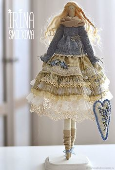 tilde doll BRIDA – shop and order online on Livemaster | Very gorgeous girl Brida. The basis is…