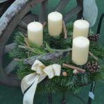 WeihnachtsZauber 2016 - Adventkranz Pillar Candles, Organic Farming, Home And Garden, Plants, Xmas, Candles
