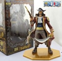 """Wish    10"""" One Piece the Pirate King Gol D Roger Gold Roger POP P.O.P Boxed 26cm PVC Action Figure Collection Model Toy"""