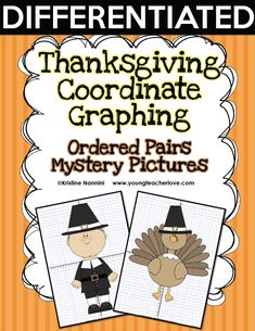 Writing Long off Post-It Notes and Thanksgiving Mystery Pictures - Young Teacher Love 5th Grade Classroom, Middle School Classroom, 8th Grade Math, Kindergarten Classroom, High School Students, Mentor Texts, Math Concepts, Thanksgiving Crafts, Math Lessons