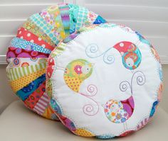 Round Cushion Stack PDF Pattern by claireturpindesign on Etsy, $10.00