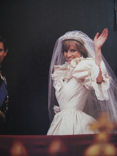 July Prince Charles marries Lady Diana Spencer in Saint Paul's… Princess Diana Wedding, Princess Diana Family, Princess Of Wales, Real Princess, Lady Diana Spencer, Royal Brides, Royal Weddings, Prince Charles And Diana, Prince William
