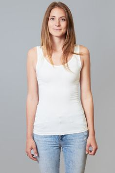 Taylor Tank in White