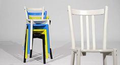 'Vom Vater zur Tochter, ein Stuhl bringt Veränderung'    Die Aufgabe der Designerin Lisa Norinder war es, für ihren Beitrag an der IKEA PS 2012 Kollektion nicht nur in die Vergangenheit zu tauchen, sondern auch Inspiration aus ihrer