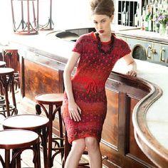 Noro Cap Sleeve Dress PDF at WEBS | Yarn.com