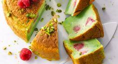 Gâteau magique à la framboise et aux pistaches http://www.prima.fr/cuisine/gateau-magique-a-la-framboise-et-aux-pistaches/7955887/