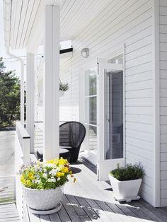 vaalean harmaa talo terassi - Google-haku