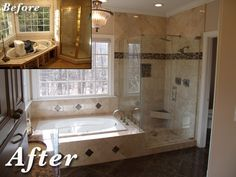 Bathroom Updates/Remodels Portfolio - CHT - Raleigh, NC