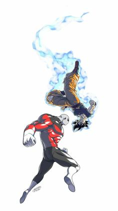 New art of Dragon Ball Super, Jiren facing Goku UI! I had a hell of a time for the posings, but at least I like the result Also practicing this style for futur Dragon Ball art ^^ Enjoy! Dragon ball super and the last episode Dragon Ball Gt, Goku Vs Jiren, Dbz Vegeta, Super Anime, Z Arts, Fan Art, Animes Wallpapers, Chibi, Character Art