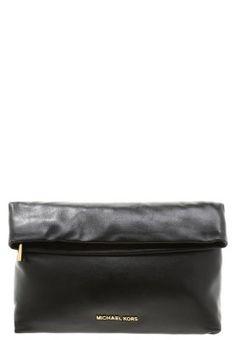 Bestill MICHAEL Michael Kors DARIA - Clutch - black for kr 2 195,00 (22.08.15) med gratis frakt på Zalando.no