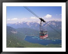 zugspitze germany pictures | View from Zugspitze, Bavaria, Germany Pre-made Frame at Art.com