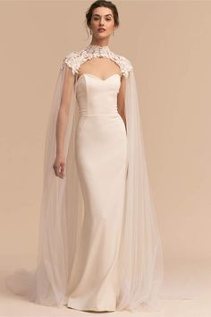 Vincent Cape. I have always wanted to wear a cape instead of a veil.