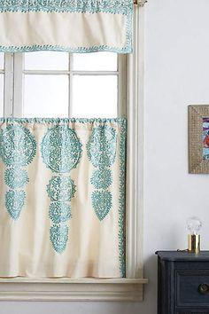 Marrakech Cafe Curtain - anthropologie.com