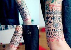 Trendy Mood | Coup de coeur : les tatouages de Tarmasz | http://www.trendymood.com