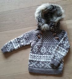 Snøhetta anorakk og genser til voksne | Strikkoteket Knitting For Kids, Knitting Patterns, Sweaters, Casual, Beautiful, Fair Isles, Moon, Diy, Fashion