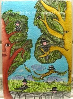 Tiere und Kunst von Herbivore11 - Herbivores Spatzenspione