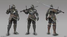 ArtStation - Drifter Knight, Isaias Kiister