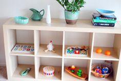 Feeding the Soil: Montessori Home Tour: Living Room