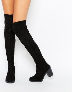 ASOS | ASOS KICK IT OFF Over The Knee Boots at ASOS