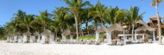 The Stylish Beaches of Tulum, Mexico - Ana y Jose Charming Hotel and Spa: On the southern tip of the Riviera Maya, the former hippie outpost of Tulum has become Mexico's most stylish beach destination.