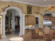 Mediterranean homes – Mediterranean Home Decor Tuscan Wall Decor, Tuscan Colors, Tuscany Kitchen, Island Cooktop, Old World Kitchens, Paint For Kitchen Walls, Best Kitchen Sinks, Tuscan House, Mediterranean Home Decor