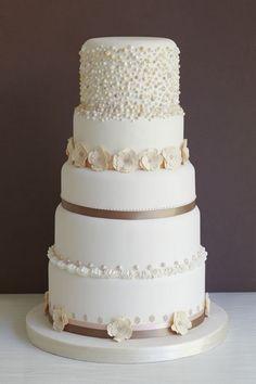 Wedding Cake 1 - The Abigail Bloom Cake Company