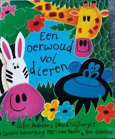 Boek Een oerwoud vol dieren