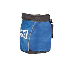Outward Hound Treat Tote Hands Free Dog Treat Pouch And Training Bag for Dogs Blue with Belt Clip * More info could be found at the image url.