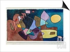 Dramatic Landscape, 1928 SwitchArt™ Print by Paul Klee at Art.com