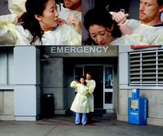 GREY'S ANATOMY: Cristina Yang and Owen Hunt Reposting some of my old musings about life on the high seas. Greys Anatomy Owen, Grays Anatomy Tv, Cristina And Owen, Cristina Yang, Grey Quotes, Grey Anatomy Quotes, Yang Grey's Anatomy, Dr Owens, Kevin Mckidd