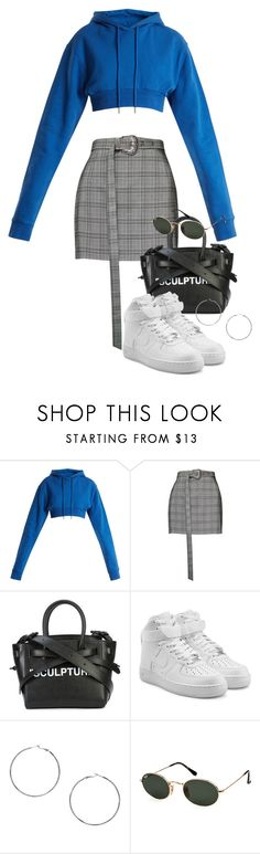 """""""Sin título #3907"""" by camilae97 ❤ liked on Polyvore featuring Off-White, Magda Butrym, NIKE, MANGO and Ray-Ban"""