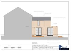 double storey rear wing extended and kitchen/ diner extension in VC Design Project in Roehampton Kitchen Diner Extension, House Extensions, Bespoke Design, New Builds, Design Projects, Floor Plans, Flooring, London, Interior Design